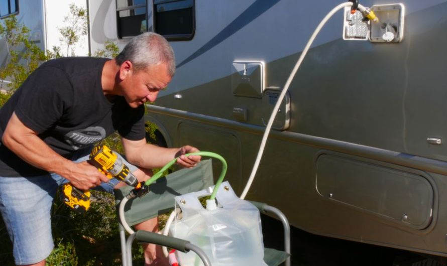 How To Refill Fresh Water Tank While Boondocking