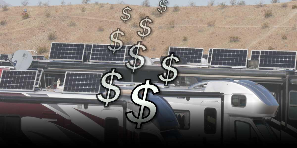 RVWITHTITO - Cost of RV Solar