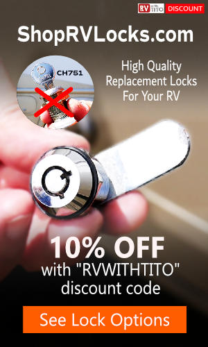10% Off RV Replacement Locks - RVWITHTITO discount