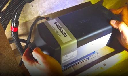 Webasto Diesel/Gas heater