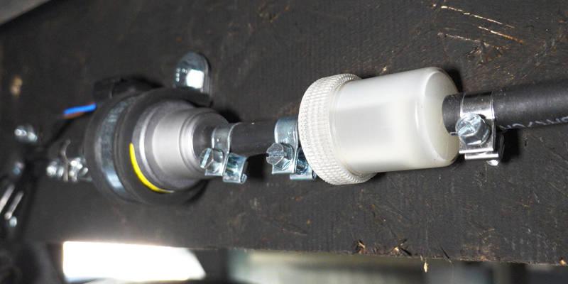 Webasto Heater Fuel Line
