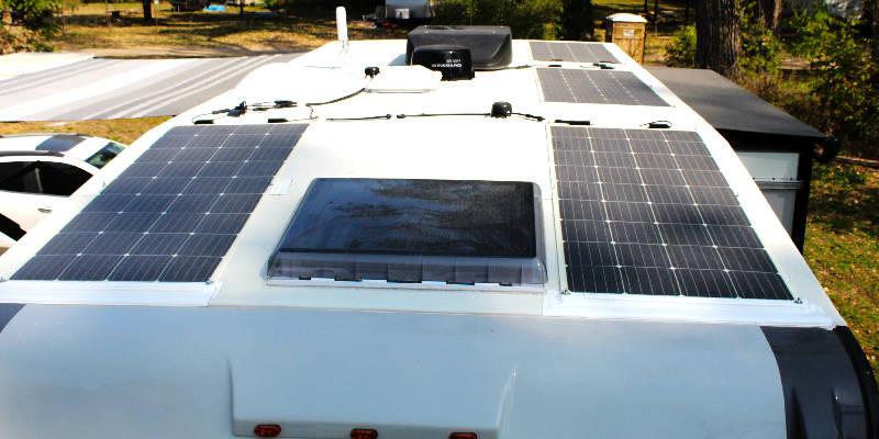 DIY Solar Truck Camper Renogy Flex