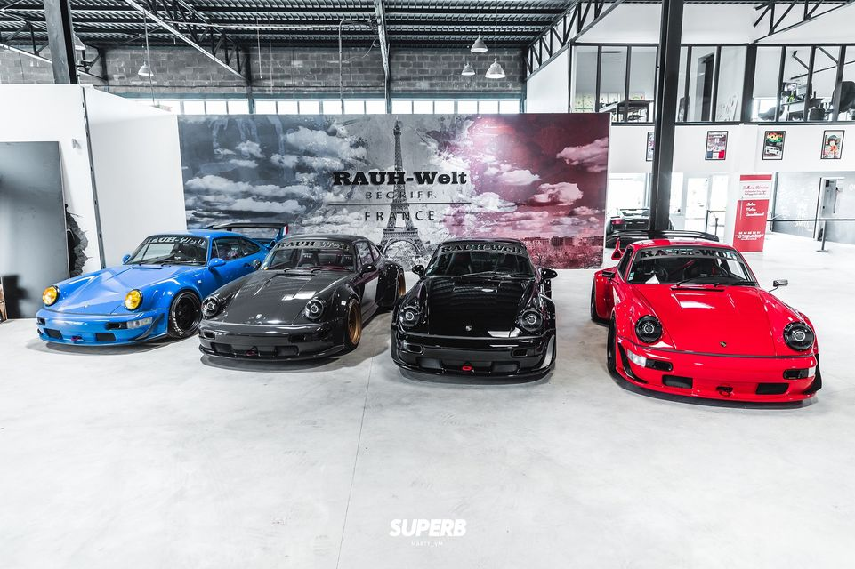 RWB France |All the RAUH-Welt Begriff Builds in France