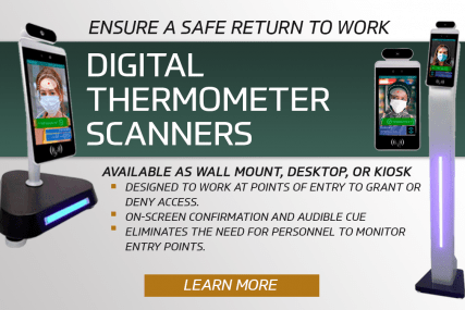 Digital Thermometer Scanner Popup
