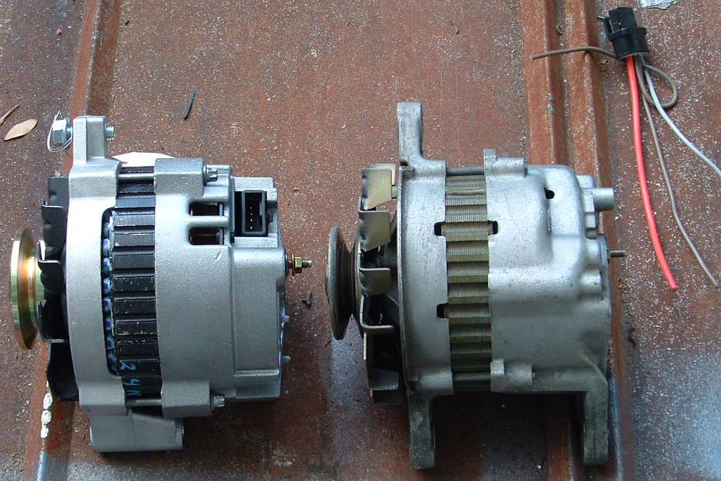 105 Amp Alternator Swap How To Gm Cs130