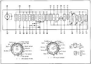 12A Instrument Cluster Wiring  RX7Club  Mazda RX7 Forum