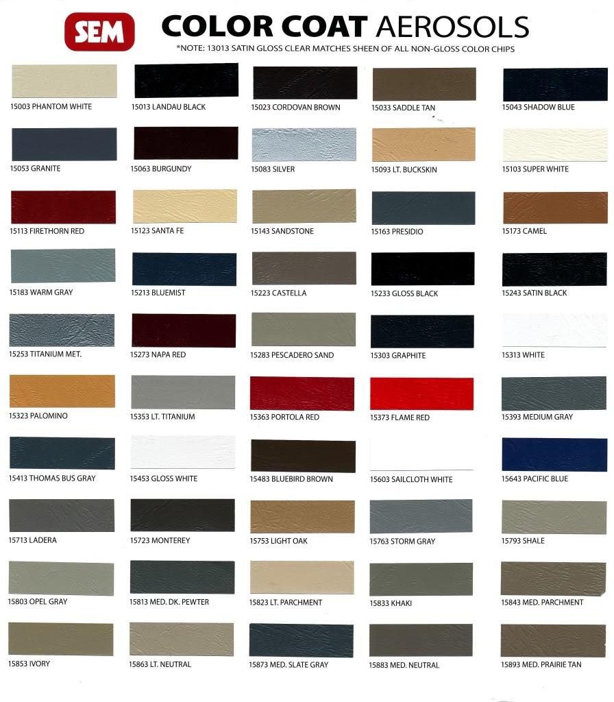 Attractive Paint Matching Burdy Fb Interior Sem Napa Red Vs