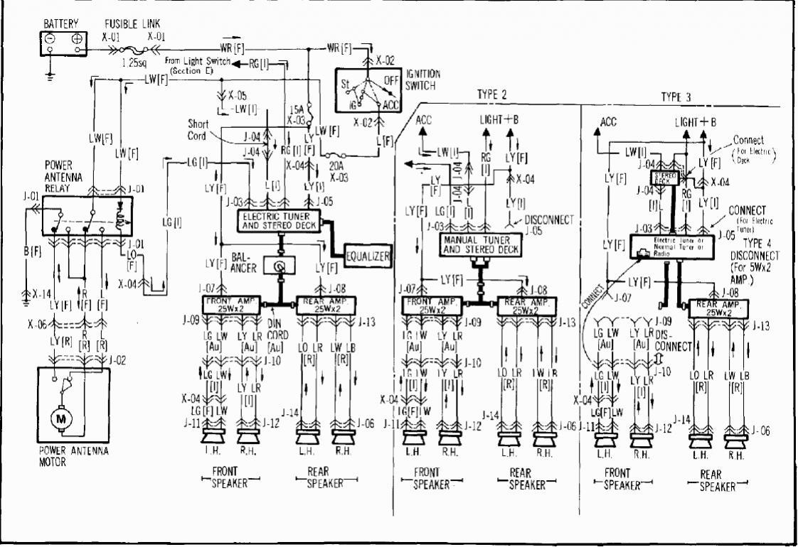 stereo wiring for mazda miata