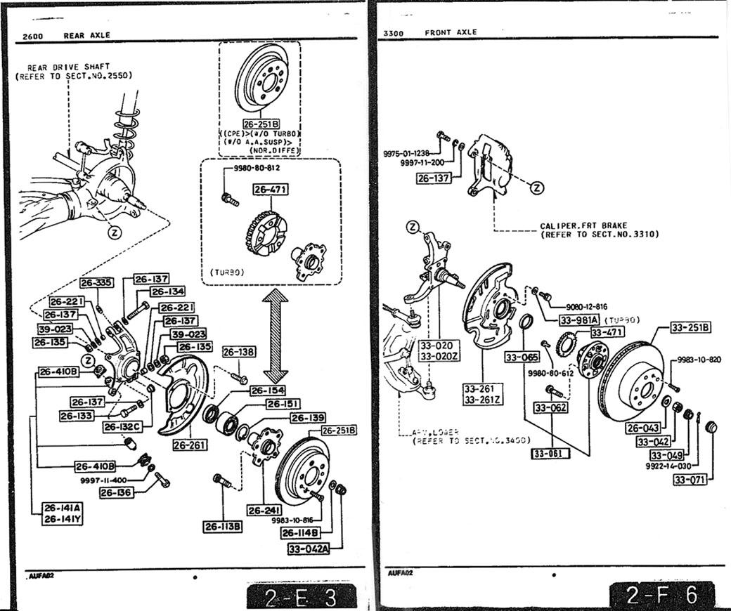 88 Rx7 Brake Calipers