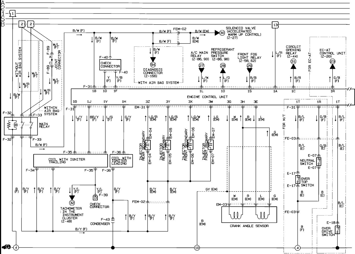 Rx 8 Engine Wiring Harnes Diagram