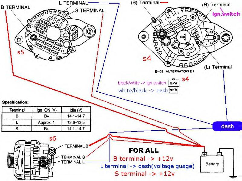 282225d1203426343 fd alternator into s4 wiring problems then some alternator3?resize\\d665%2C499 hitachi alternator wiring diagram efcaviation com mitsubishi alternator wiring diagram at gsmportal.co
