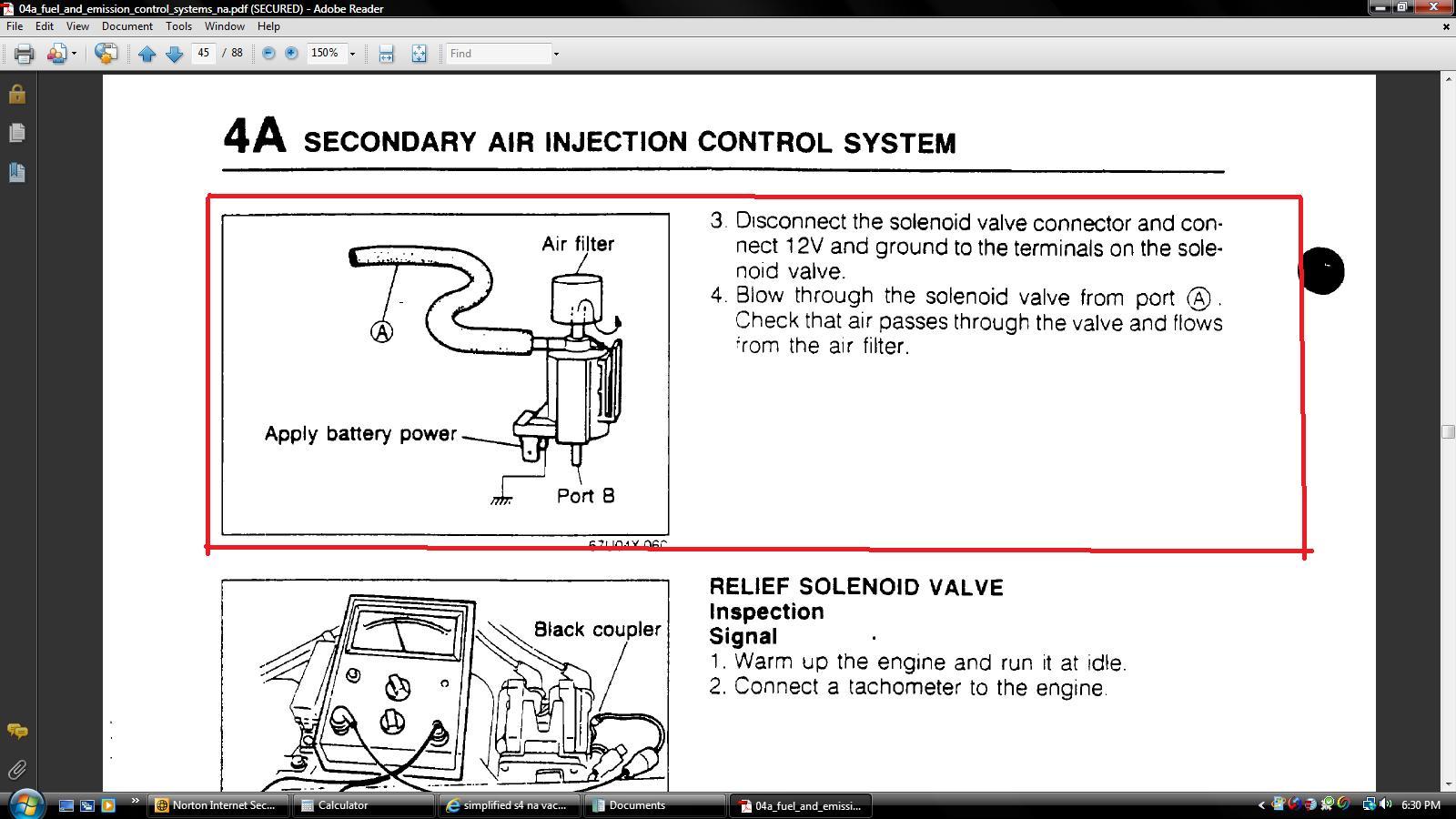 Simplified S4 Na Vacuum Diagram