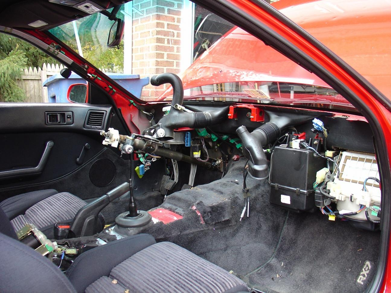 Heater Core Replacement Mazda RX7 Forum