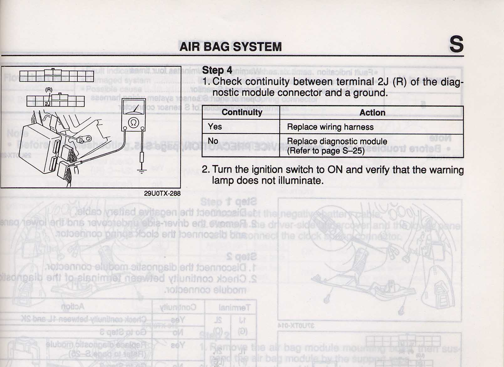 Airbag Light Flashes 10 Times Then Pauses And Repeats