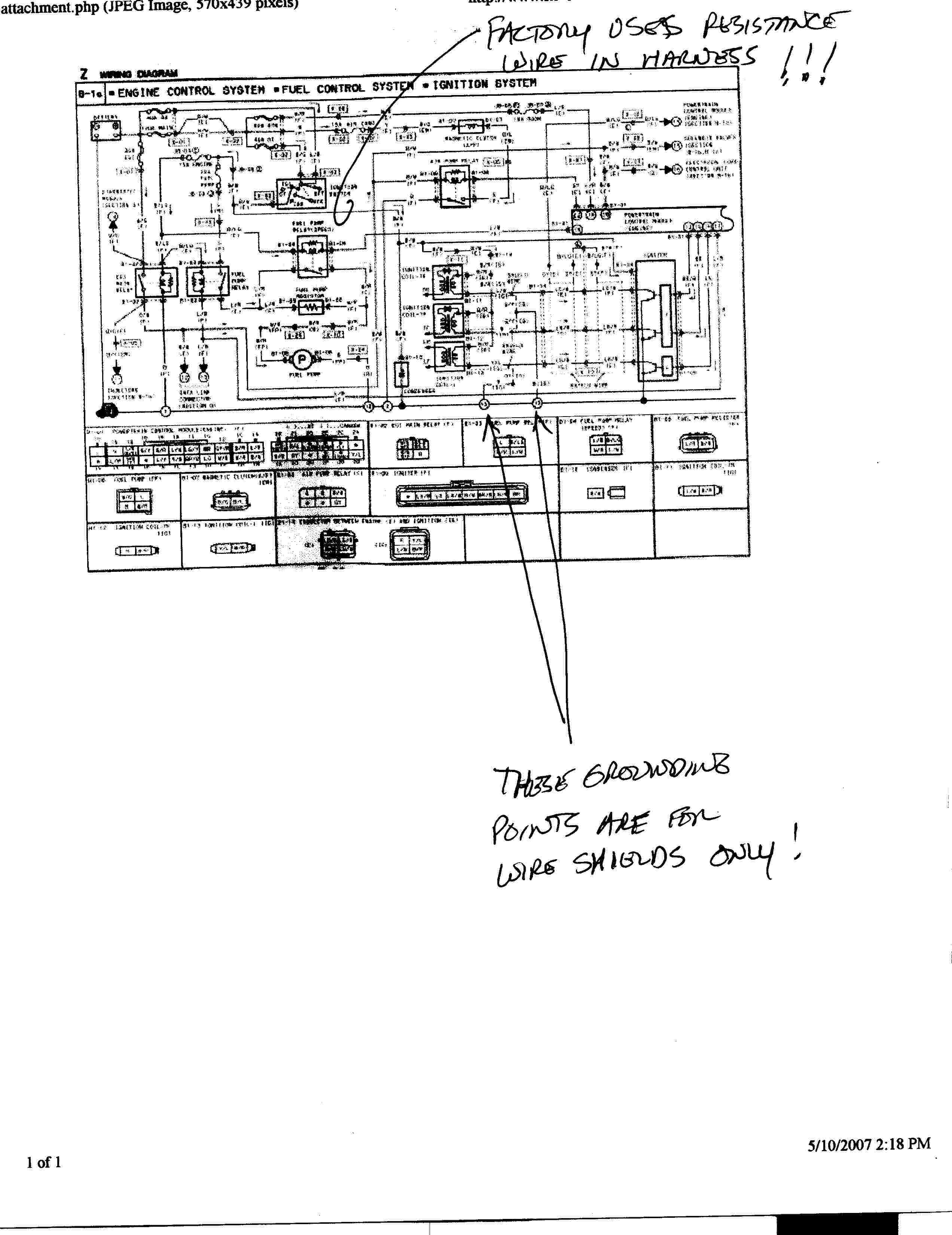 87 Rx7 Wiring Diagram