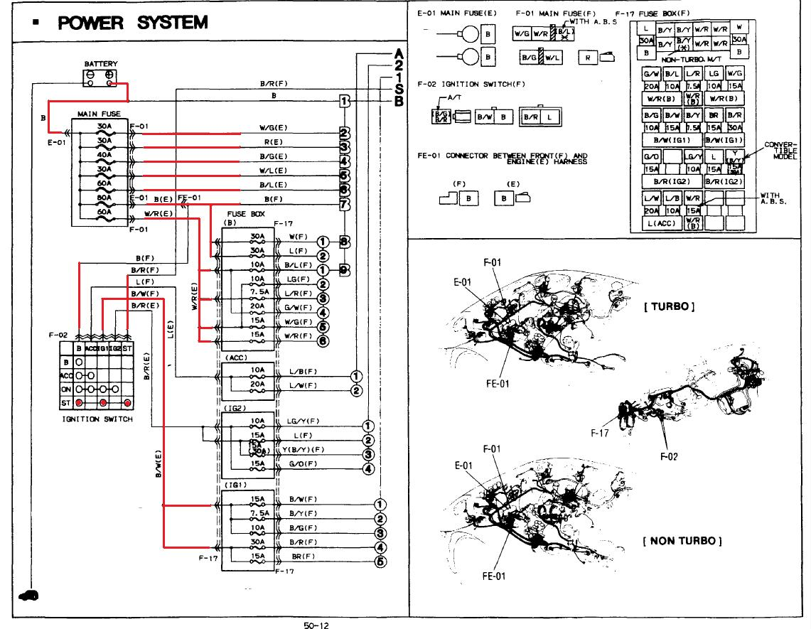 Wiring Diagram: 33 Miata Ignition Switch Wiring Diagram