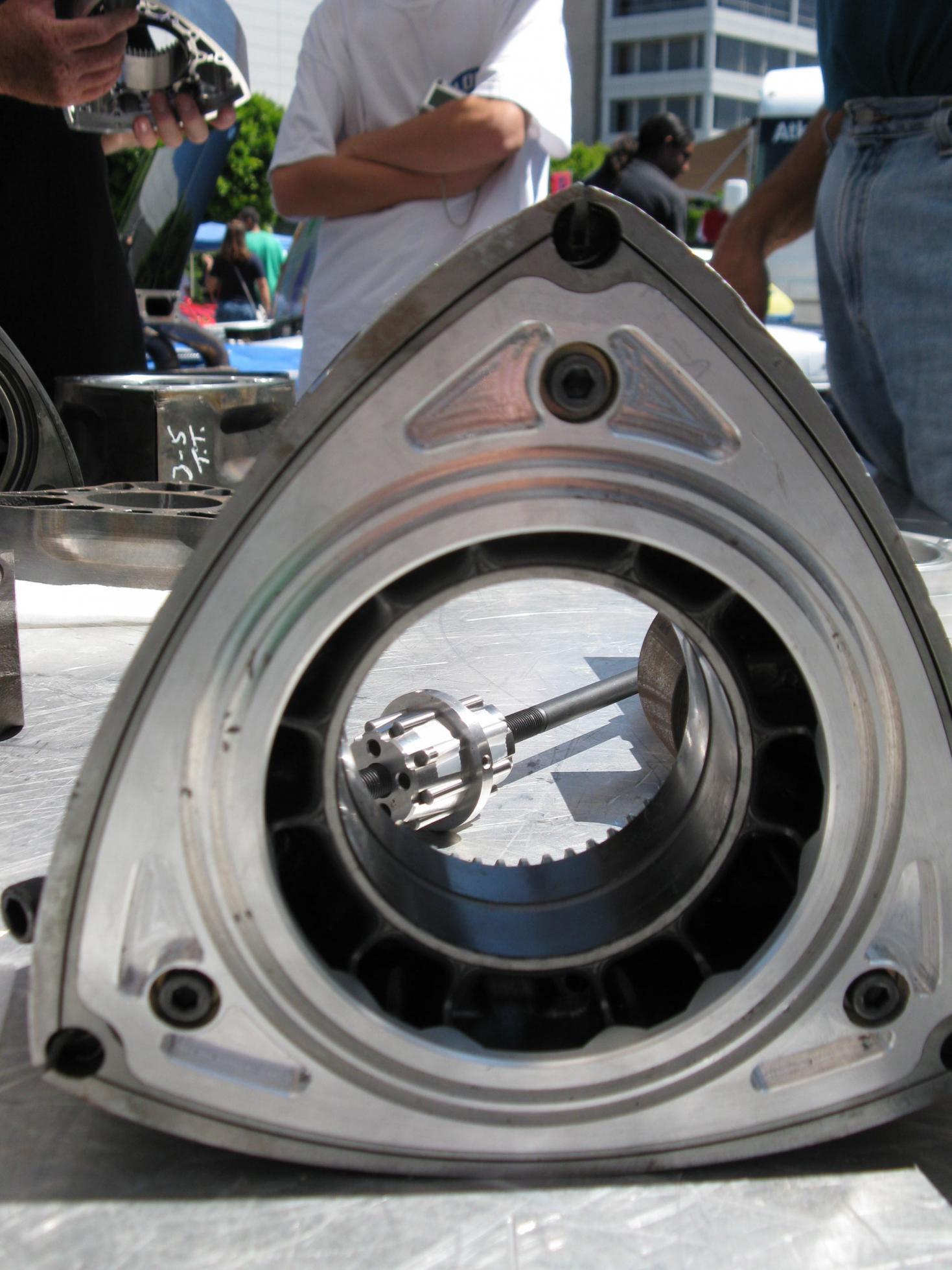 Billet Rotors From Mazdatrix Mazda RX7 Forum