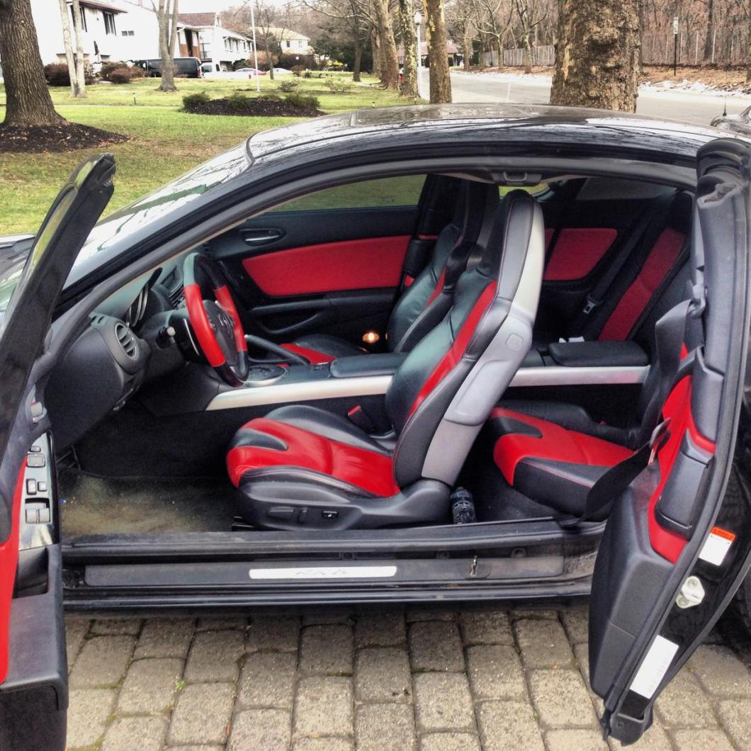Mazda 6 Grand Touring For Sale: Mazda Rx 8 Black Red Interior