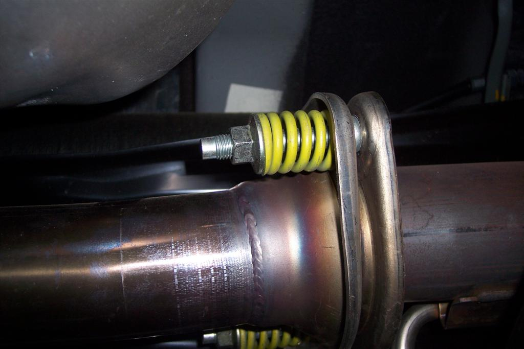 for exhaust bolts with spring