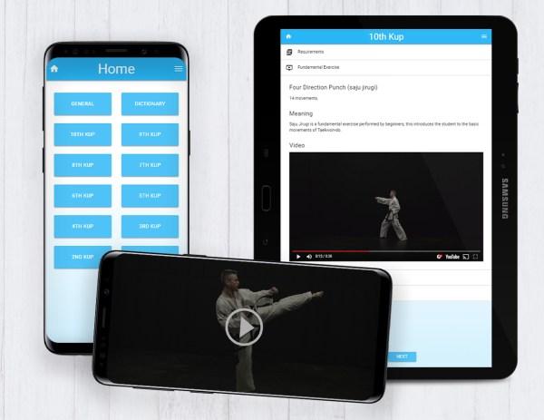 Taekwon-do Learning Application