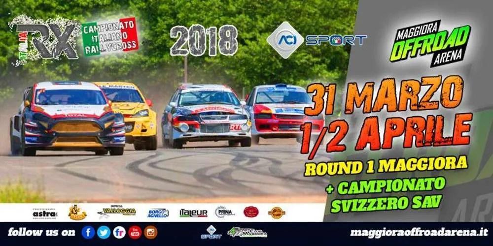 Aperte le iscrizioni al Round#1 del Campionato Italiano Rallycross 2018