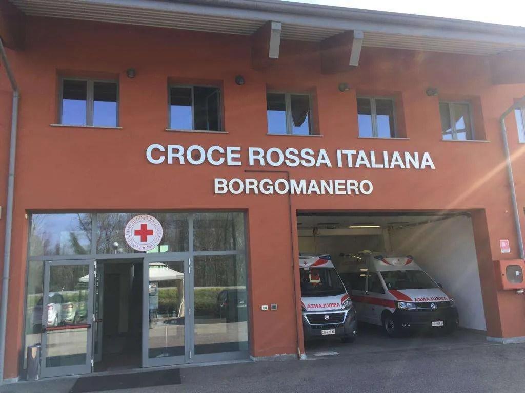 Aiutiamo la Croce Rossa di Borgomanero