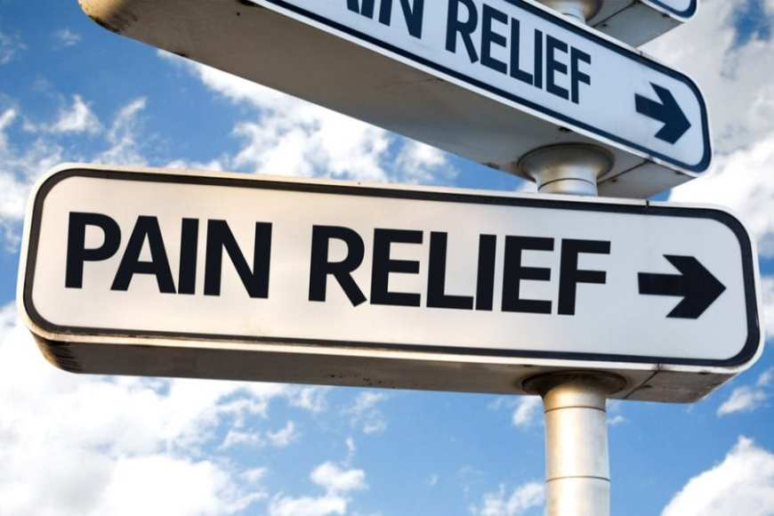 Pain Relief Sign, root