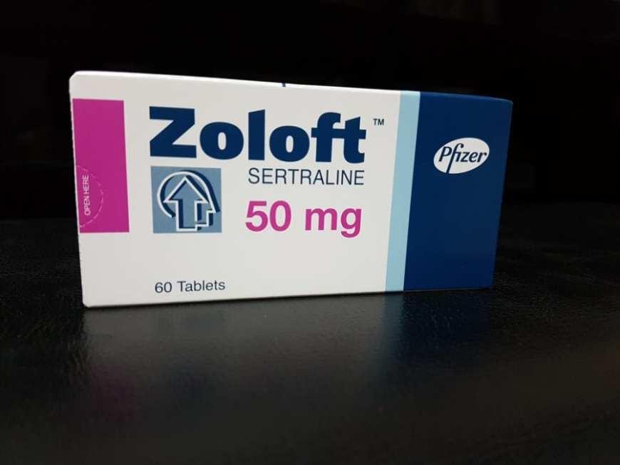 Box of Zoloft for tics
