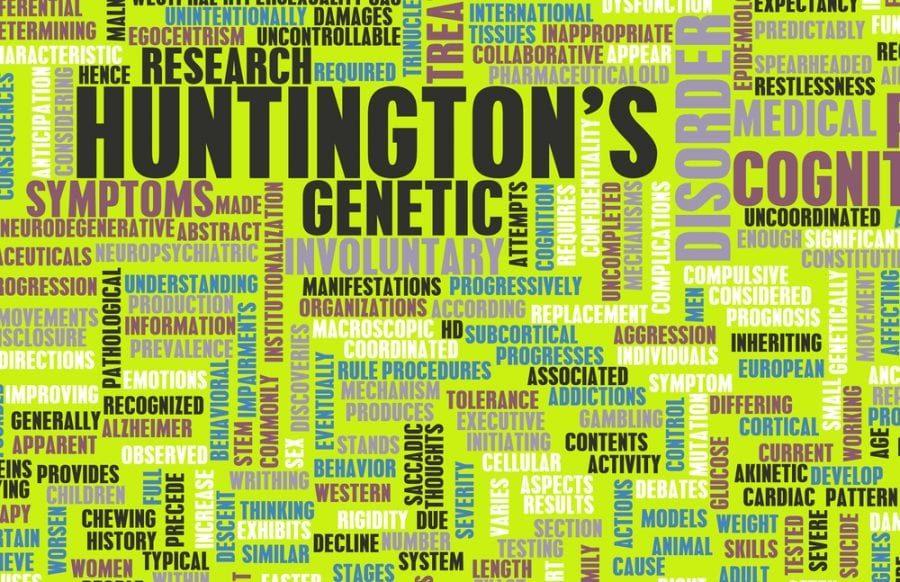 Huntington's Word Graphic