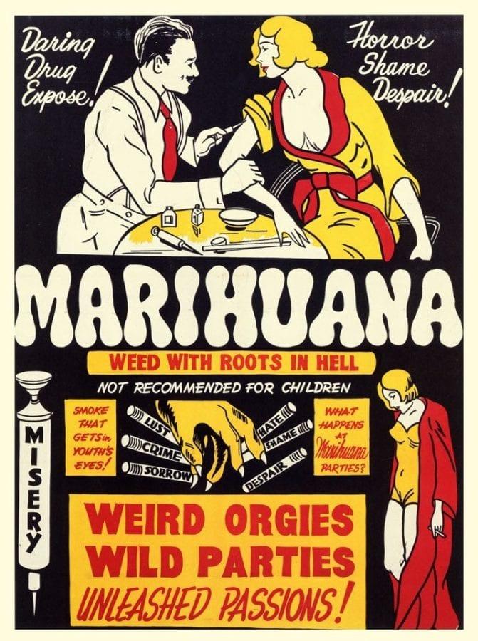 Reefer Madness Vintage Poster