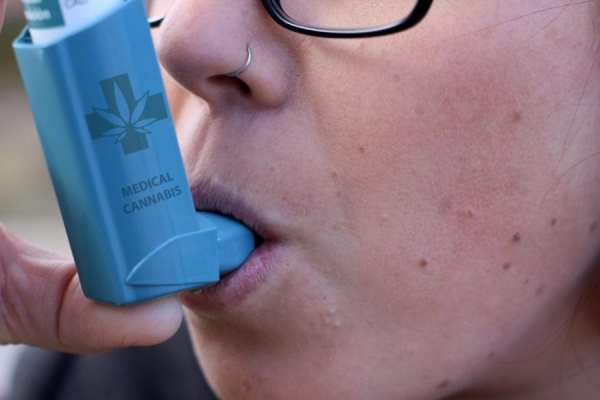 cannabis, nebulizer, inhaler, asthma, COPD, cannabinoids, inflammation, anti-inflammatory, CBD, lung health