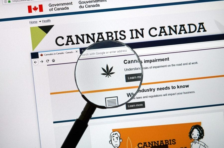 """cannabis in canada page where you might ask how to """"Clear My Record"""""""