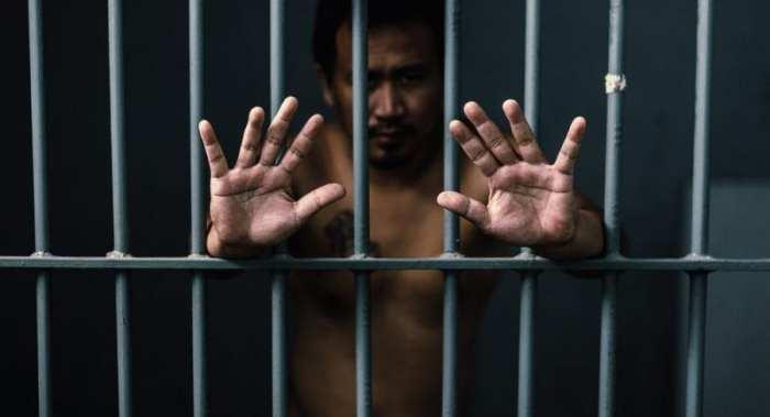 hispanic man in jail