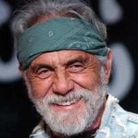 close up of tommy chong