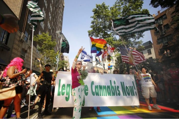 cannabis legalization contingent at NY Pride 2016