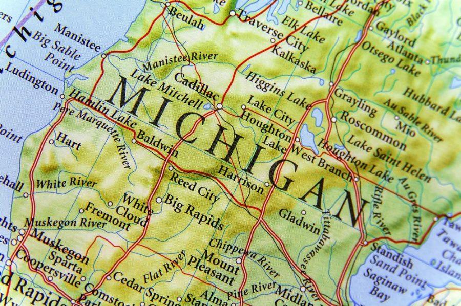 Map of Michigan