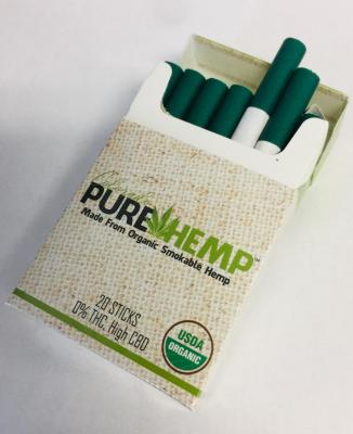CBD cigarettes, hemp, CBD flower, low THC, smokable hemp