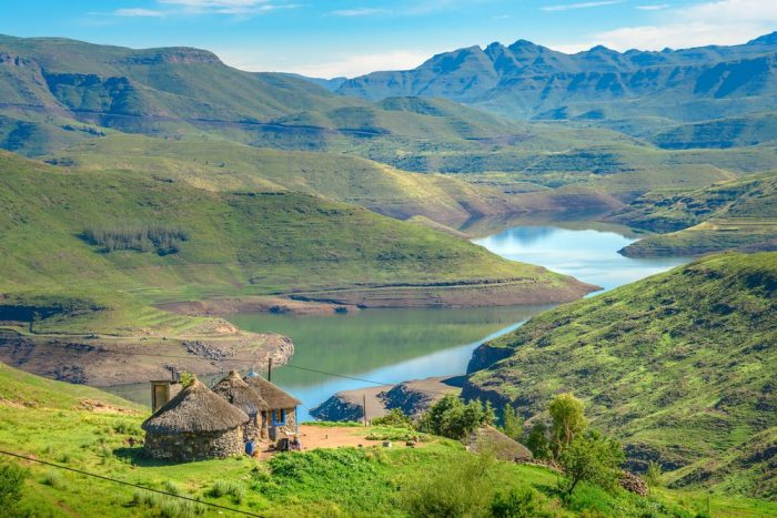 south african country of lesotho where cannabi sativa is grown