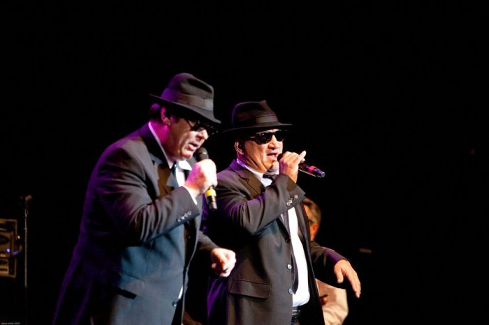 Jim Belushi performing as a blues brother, scheduled to be at the CCC in october