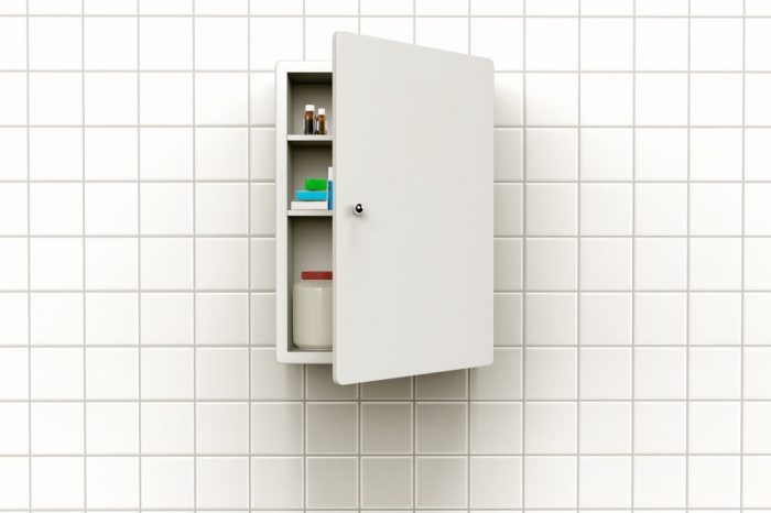 image of regular looking medicine cabinets