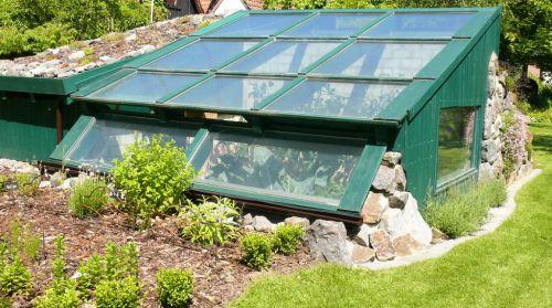 a walipini greenhouse