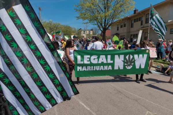 will america legalize cannabis question asked at this pro-legalization parade