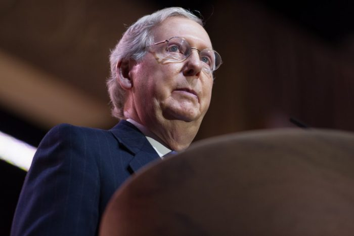 hemp news recently concerned mitch mcconnel, pictured here