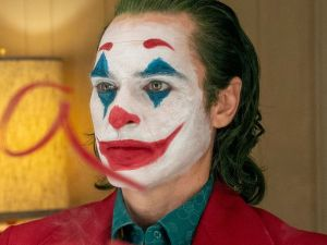 Arthur Fleck played by Joaquin Pheonix in the Joker