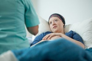 stage 4 stomach cancer patient meeting with doc