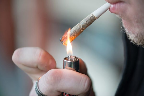 is cannabis smoking liek this a human coronavirus treatment?
