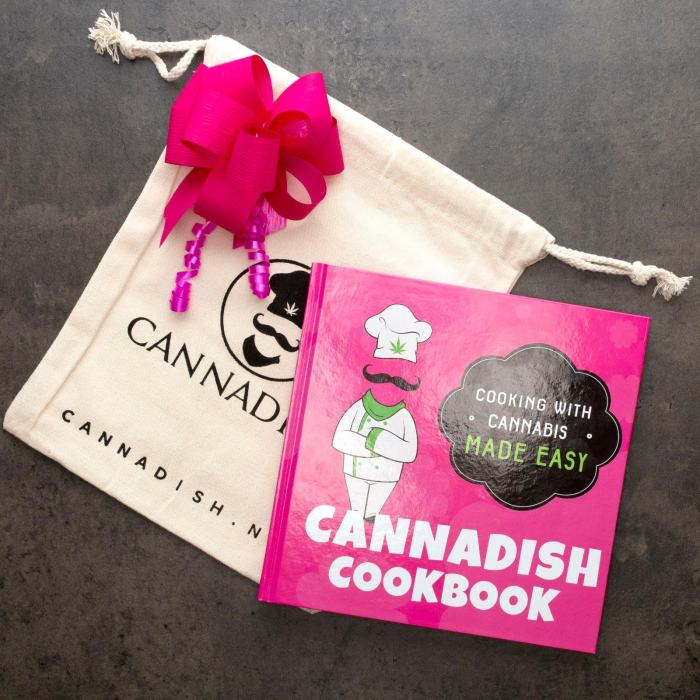 best cannabis cookbook option, cannadish cookbook