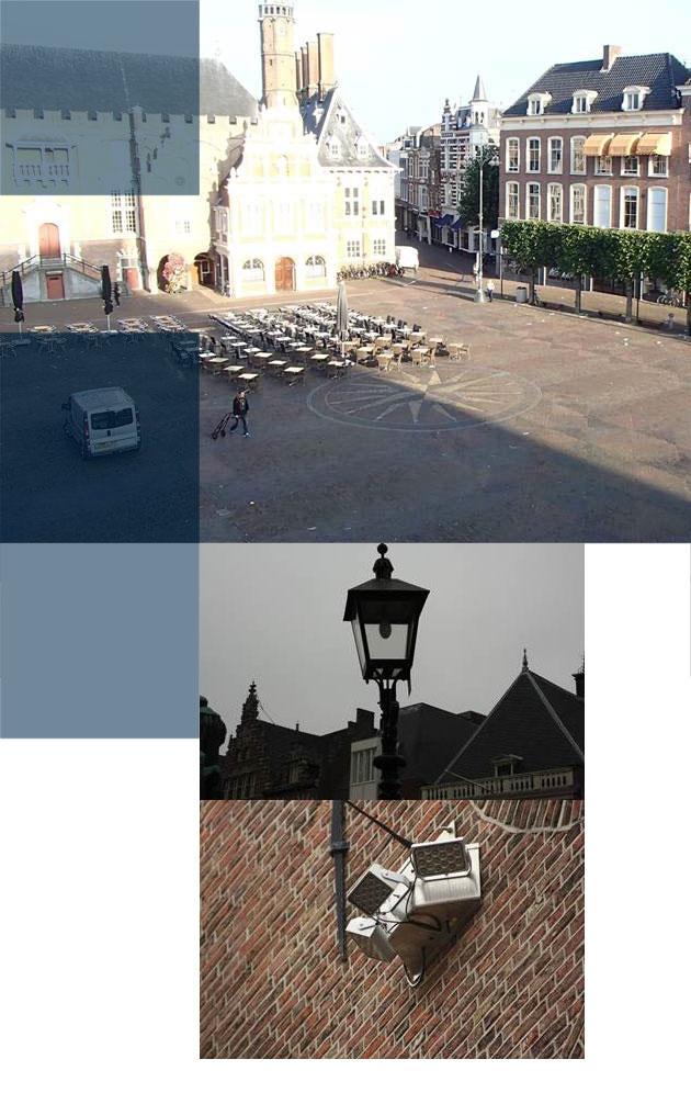 In Haarlem is de Grote Markt uitgelicht met vandaalbestendige verlichting en armaturen van RXlight.