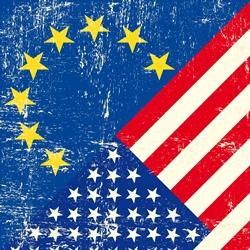 USvsEU flags
