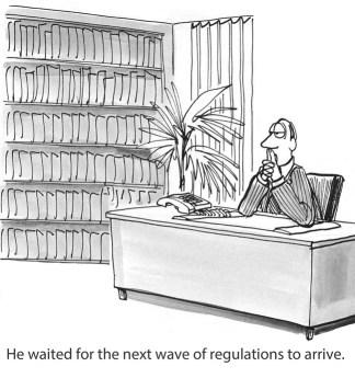 New Regulations comic